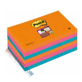 Karteczki Post-it Super Sticky Bangkok, komplet bloczków po 90 kartek