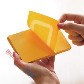Karteczki samoprzylepne Stick'n 360 stopni 76x76 mm, bloczek 100 kartek