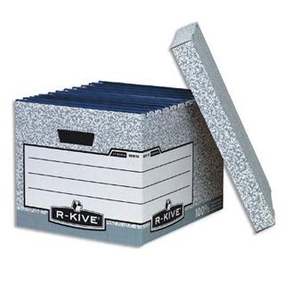 Karton zbiorczy na pudełka i teczki zawieszkowe Fellowes, ze zdejmowanym wiekiem  #archiwizacja