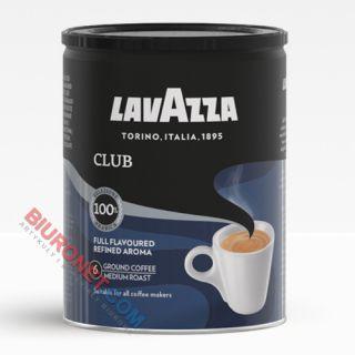 Kawa Lavazza Club, 100% mielona Arabica, w puszce
