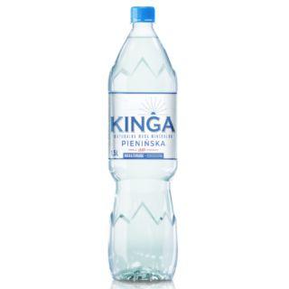 Kinga Pienińska 1,5L x 6 sztuk, woda wysoko mineralizowana, niskosodowa niegazowana