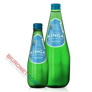 Kinga Pienińska, woda mineralna w zielonych szklanych butelkach 0,3L x 12 sztuk