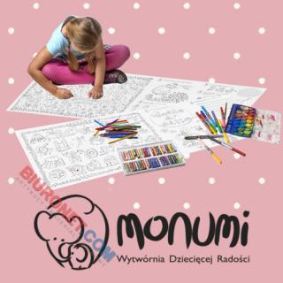 Kolorowanka podłogowa XXL Monumi, 80 x 120cm