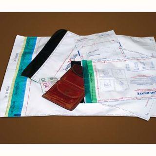 Koperty bezpieczne Amersafe, foliowe, samoklejące z paskiem (HK), 50 sztuk