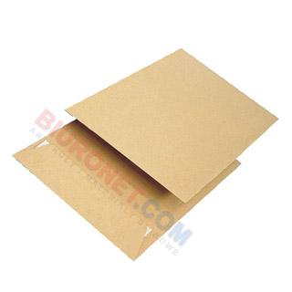 Koperty z paskiem (HK), brązowe (BR), 50 sztuk