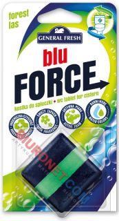 Kostka do spłuczki General Fresh Blu Force 50g, barwiąca wodę w WC