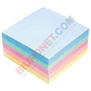 Kostka papierowa - kolorowa, klejona