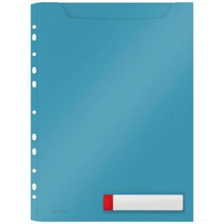 Koszulka poszerzana Leitz Cosy A4/200 mikronów, o zwiększonej pojemności do 150 kartek morski niebieski