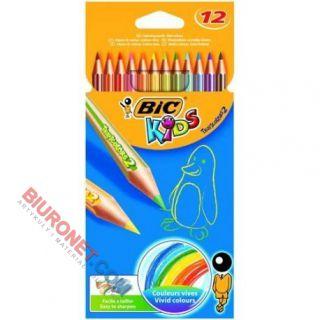 Kredki ołówkowe BIC Tropicolor, w oprawie z żywicy syntetycznej 12 kolorów