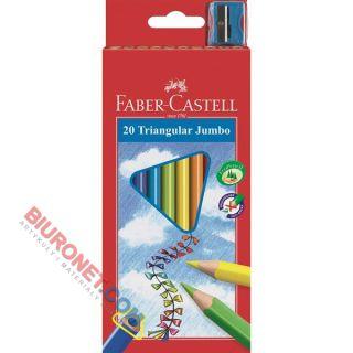 Kredki ołówkowe Faber Casatell Jumbo, trójkątne
