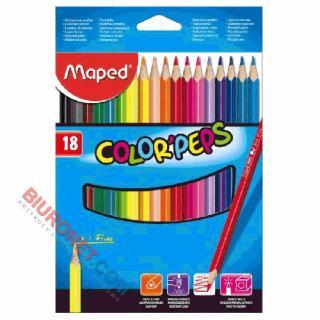Kredki ołówkowe Maped Color'Peps, trójkątne