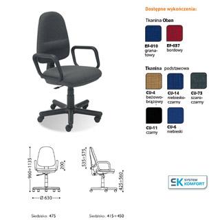 Krzesło biurowe Grand GTP. Nowy Styl.