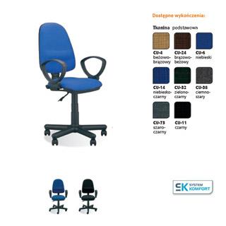 Krzesło biurowe Perfect GTP. Nowy Styl.