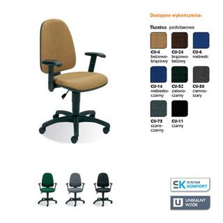 Krzesło biurowe Webstar R1E. Nowy Styl.