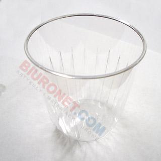 Kubki plastikowe Diament, krystaliczne, twarde [266ml x 30 sztuk]