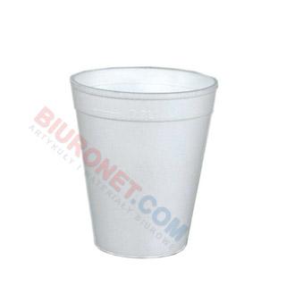 Kubki termiczne, do napojów gorących, styropianowe [225ml x 50 sztuk]