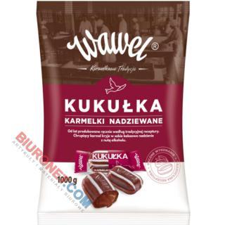 Kukułka Wawel, cukierki - karmelki nadziewane