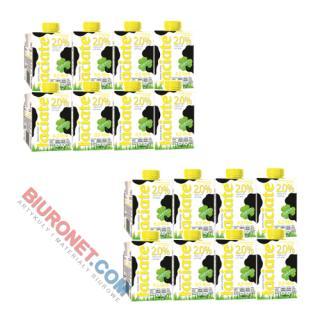 Łaciate, mleko w kartonie, 2 zgrzewki [0,5L x 16 sztuk]