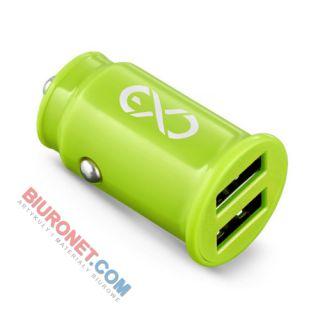 Ładowarka samochodowa eXc Cute, uniwersalna, USB x 2