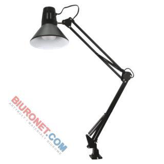 Lampka kreślarska z imadłem, czarna. Na zamówienie inne kolory
