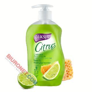 Luksja Citrus, nawilżające mydło w płynie, 450ml