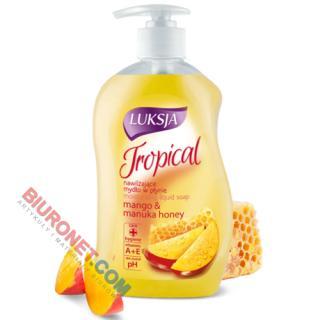 Luksja Tropical, nawilżające mydło w płynie, 450ml