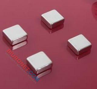 Magnesy mocne Super Strong 2X3 Board Company, kwadratowe 6 sztuk
