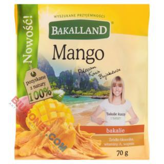 Mango Bakalland, suszone plastry