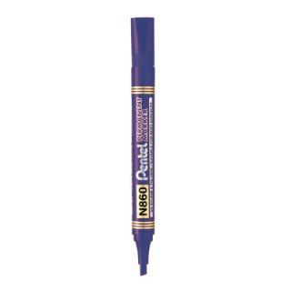 Marker permanentny Pentel N860, ścięta końcówka
