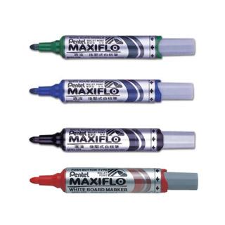 Marker suchościeralny Pentel Maxiflo MWL5M, do tablic, końcówka okrągła gruba
