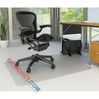Mata pod krzesło Q-Connect, na twarde podłogi, w kształcie litery T