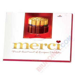 Merci Finest Selection Red, bombonierka, czekoladki nadziewane