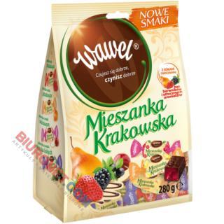 Mieszanka Krakowska Wawel Nowe Smaki, galaretki w czekoladzie
