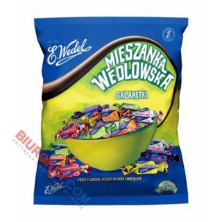 Mieszanka Wedlowska Galaretki, cukierki w czekoladzie