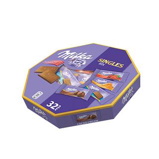 MILKA Singles Mix, różne smaki czekoladek Milka