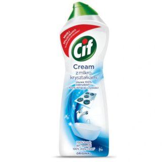 Mleczko CIF Cream Regular, do czyszczenia, z mikrokryształkami