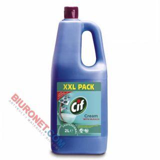 Mleczko Cif Professional Cream with Bleach, wybielające do mocno zabrudzonych powierzchni