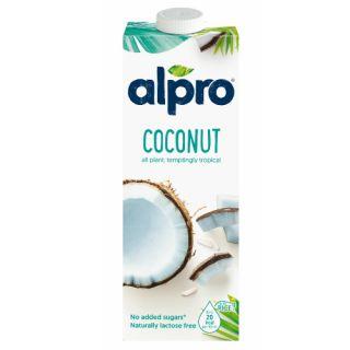 Mleko kokosowe Alpro Coconut, napój roślinny, karton 1L 1L