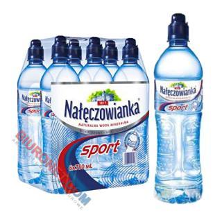 Nałęczowianka Sprint, woda mineralna [0,75L x 6 sztuk]