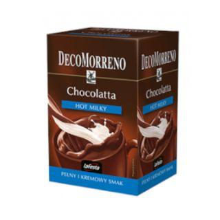 Napój czekoladowy Chocolatta Hot Milky DecoMorreno LaFesta, czekolada rozpuszczalna 25g x 10 sztuk
