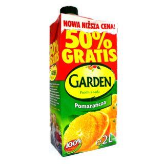 Napój Garden Pomarańczowy, 2l.