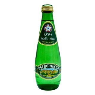Napój Ostromecko Bitter Lemon, cytrynowa woda w szklanych butelkach [0,3L x 12 sztuk]
