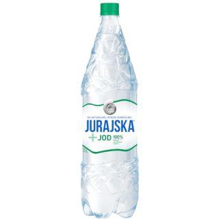 Naturalna woda mineralna Jurajska + Jod 1,5L, funkcjonalna, zgrzewka 6 sztuk lekko gazowana