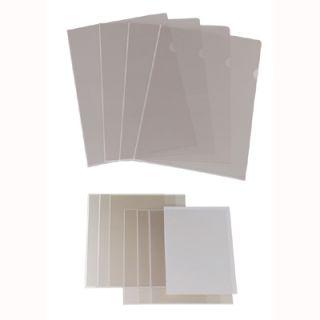 Ofertówki krystaliczne Biurfol A4, sztywne obwoluty typu L, 25 sztuk