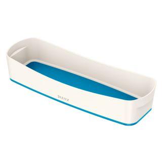 Organizer Leitz My Box WOW, podłużny przybornik, pojemnik 307 x 55 x 105 mm biało - niebieski