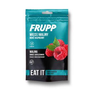 Owoce liofilizowane Frupp Eat It, torebka 15g malina