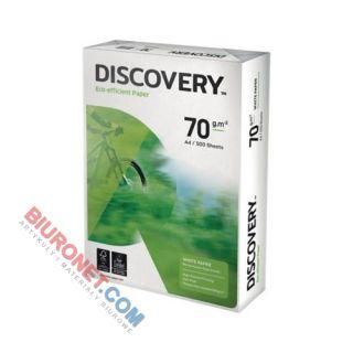 Papier do drukarki i ksero Discovery A4, gramatura 70g, klasa B+