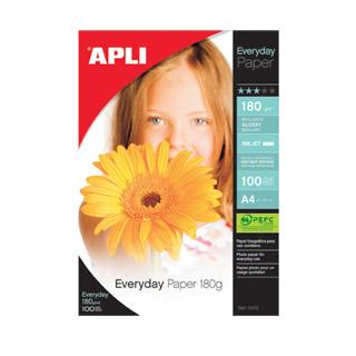 Papier fotograficzny Everyday błyszczący do drukarek atramentowych, A4. Apli