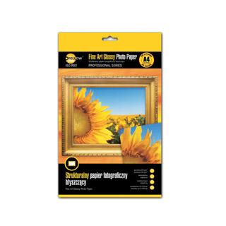 Papier fotograficzny Fine Art - strukturalny A4. Yellow One