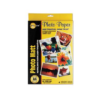 Papier fotograficzny matowy A4. Yellow One